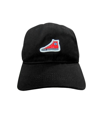Converse Chuck Sneaker Baseball Cap-BLACK-8-18