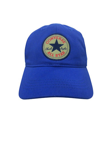 Converse Floppy Cotton Baseball Cap-BLUE-4-6