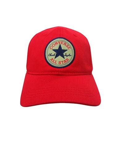Converse Floppy Cotton Baseball Cap-RED-8-18