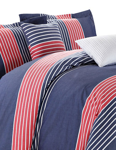 North Home Chaplin Three-Piece Duvet Cover Set-MULTI-King