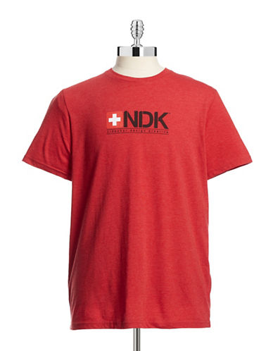 Ndk Active Classic Logo T-Shirt-RED-Small 88056744_RED_Small