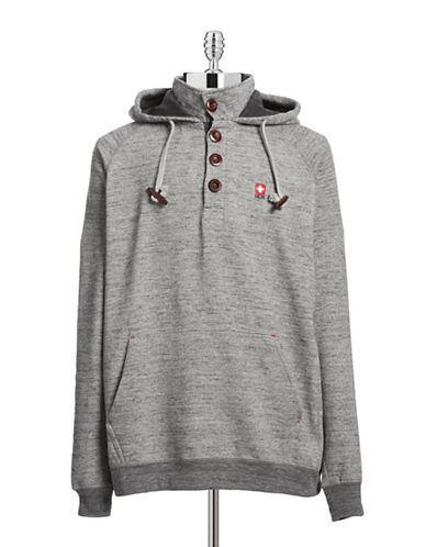 Ndk Active Button-Down Hoodie-GREY-Small 88056693_GREY_Small
