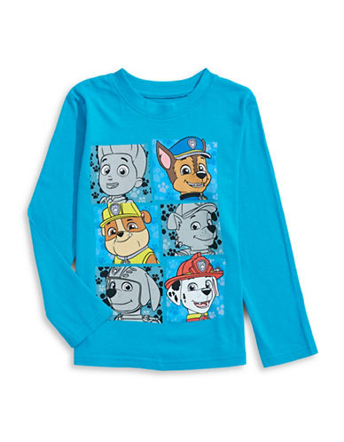 Licensed Tees Paw Patrol Shirt-TURQUOISE-6X plus size,  plus size fashion plus size appare