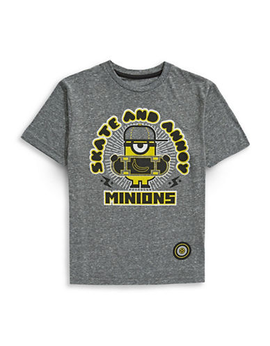 Minion Minion Graphic T-Shirt-GREY-Large 89211267_GREY_Large