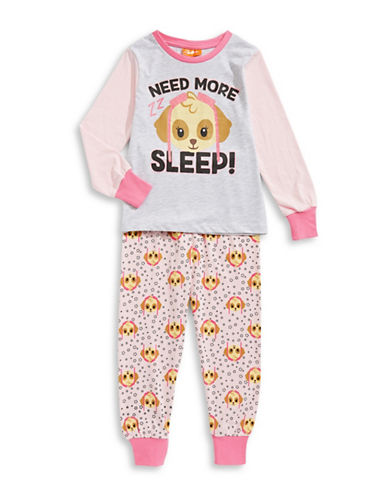 Ntd Two-Piece Paw Patrol Pyjama Set-PINK-6X