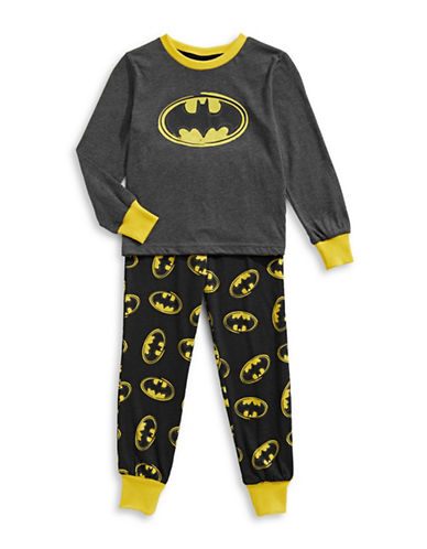 Ntd Three-Piece Batman Pyjama Set-BLACK/YELLOW-5