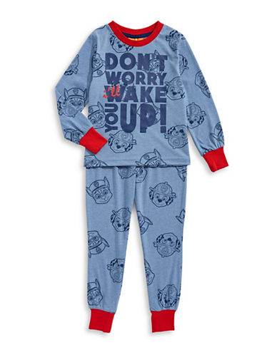 Ntd Two-Piece Paw Patrol Pyjama Set-BLUE-2