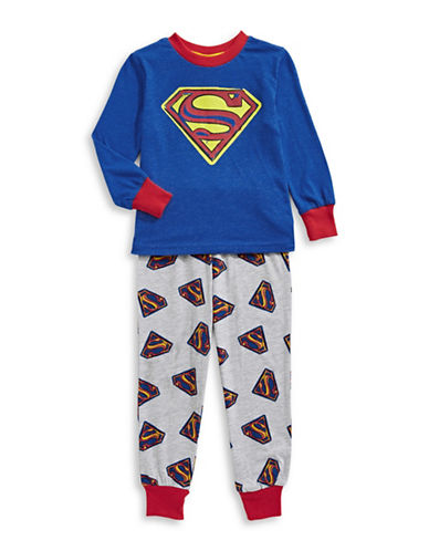 Ntd Three-Piece Spider-Man Pyjama Set-BLUE/RED-4