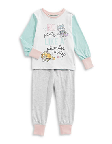 Ntd Two-Piece Mixed Paw Patrol Pyjama Set-GREY-2