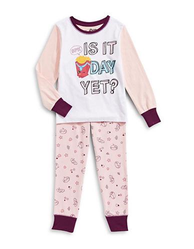 Ntd Two-Piece Shopkins Pyjama Set-PINK-5