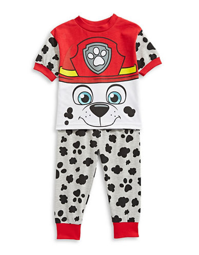 Ntd Two-Piece Paw Patrol Pajama Set-GREY MIX-3