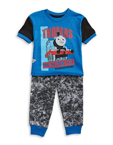 Ntd Two-Piece Thomas Pajama Set-ROYAL GREY-6