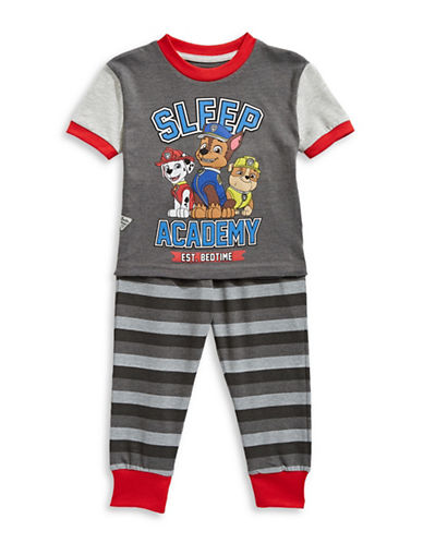 Ntd Two-Piece Paw Patrol Pajama Set-CHARCOAL-4