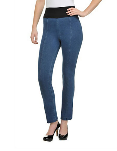 Nygard Slims SlLIMS Ankle Pant-BLUE-X-Small