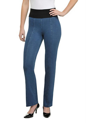 Nygard Slims Denim Straight Cut-BLUE-X-Small