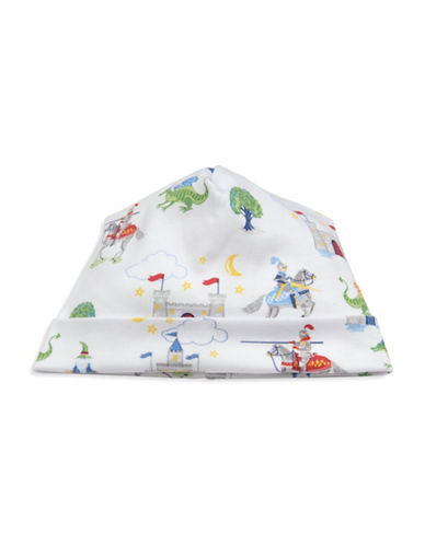 Kissy Kissy Prince Charming Cotton Hat-WHITE-Small