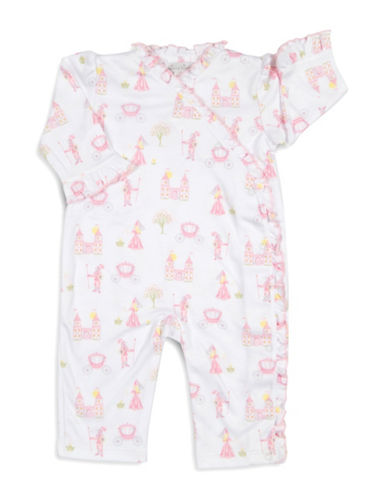 Kissy Kissy Enchanted Princess Ruffle Coverall-WHITE-0-3 Months
