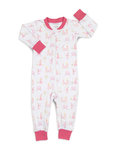 Kissy Kissy Enchanted Princess Cotton Coverall-WHITE-18-24 Months