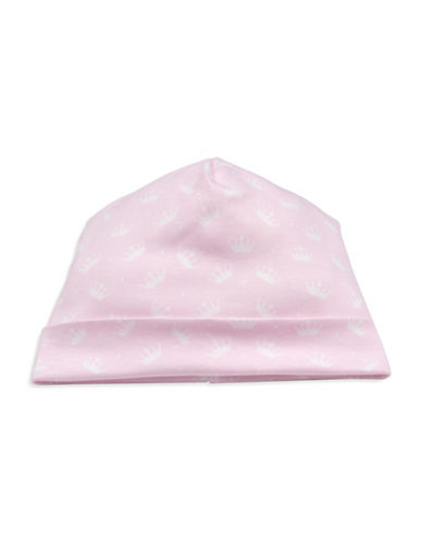 Kissy Kissy Royalty Graphic Cotton Hat-PINK-Small