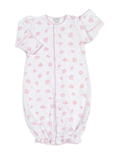 Kissy Kissy Tiny Tutus Convertible Gown-WHITE-0-6 Months
