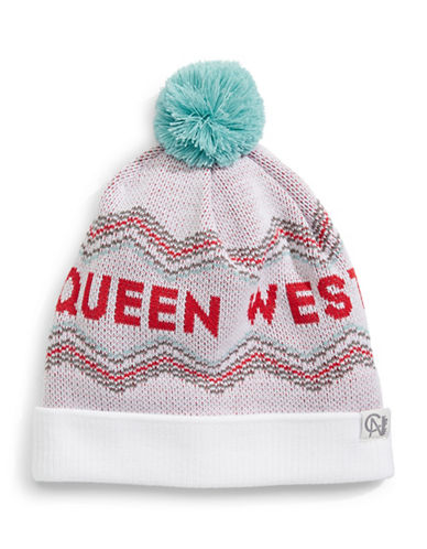 Tuck Shop Co. Queen West Knit Hat-WHITE-One Size