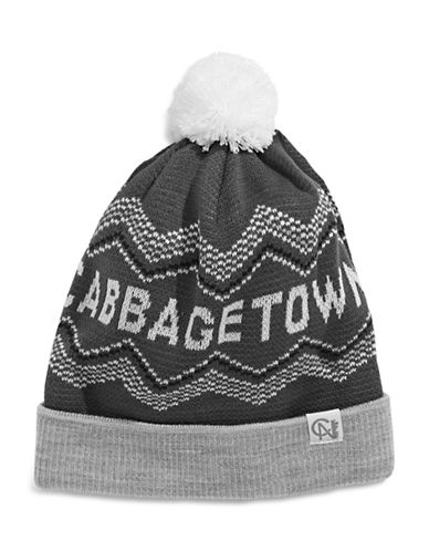 Tuck Shop Co. Cabbagetown Knit Hat-GREY-One Size