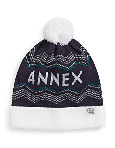 Tuck Shop Co. Annex Knit Hat-NAVY-One Size