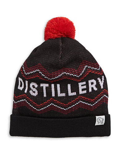 Tuck Shop Co. Distillery Knit Hat-BLACK-One Size