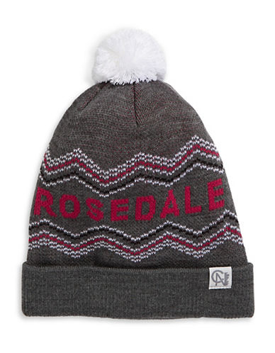 Tuck Shop Co. Rosedale Knit Hat-GREY-One Size