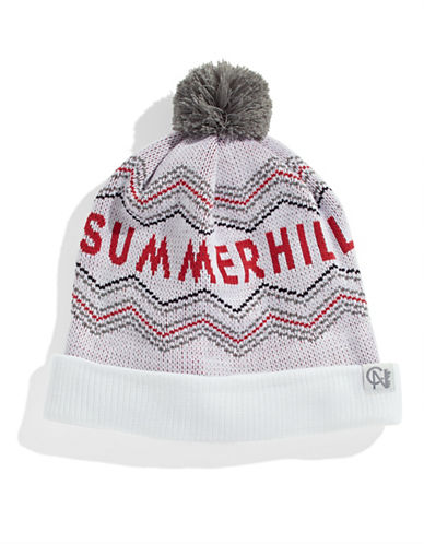 Tuck Shop Co. Summerhill Knit Hat-WHITE-One Size