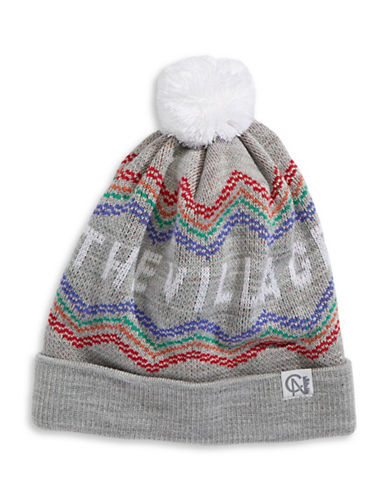 Tuck Shop Co. The Village Knit Hat-GREY-One Size