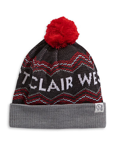 Tuck Shop Co. St. Clair West Knit Hat-GREY-One Size
