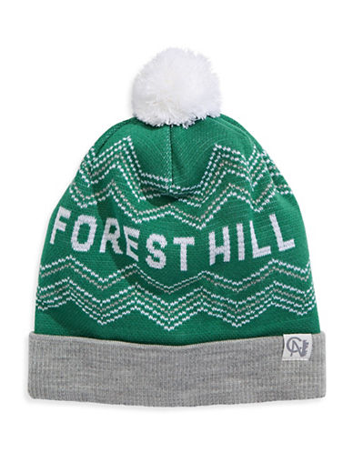 Tuck Shop Co. Forest Hill Knit Hat-GREEN-One Size