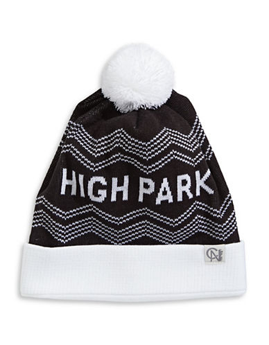 Tuck Shop Co. High Park Knit Hat-BLACK-One Size