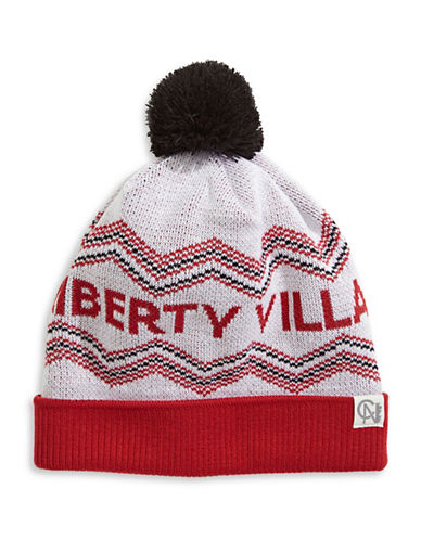 Tuck Shop Co. Liberty Village Knit Hat-WHITE-One Size
