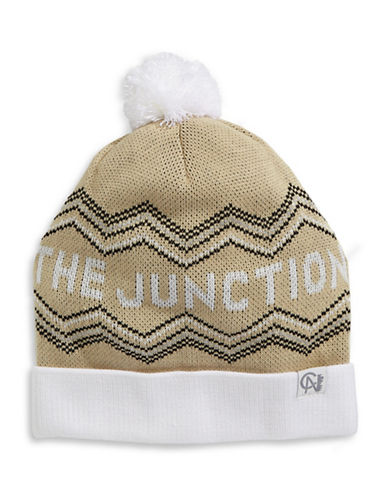 Tuck Shop Co. The Junction Knit Hat-YELLOW-One Size