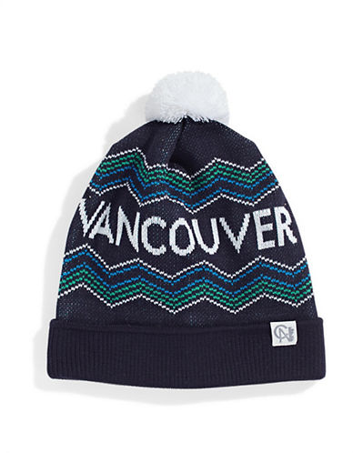 Tuck Shop Co. Vancouver Knit Hat-NAVY-One Size