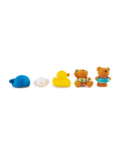 Hape Toys Teddy And Friends Bath Squirts-MULTI-One Size