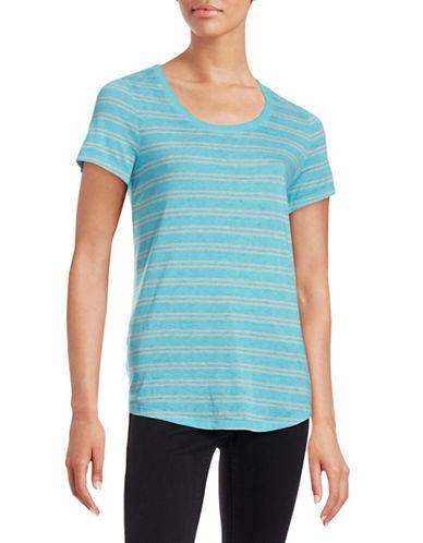 Marc New York Performance Double Striped T-Shirt-BLUE-Medium 88297264_BLUE_Medium