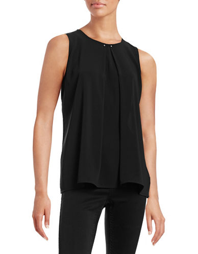 Marc New York Pleat Front Studded Tank-BLACK-Small 88197546_BLACK_Small