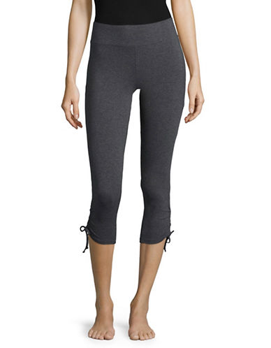Marc New York Performance Cropped Drawstring Leggings-GREY-X-Large 89030206_GREY_X-Large