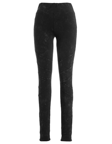 Marc New York Performance Seamed Knee Leggings-BLACK-X-Large 87899241_BLACK_X-Large