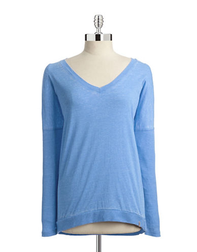 Marc New York Performance Burnout Slouch Tee-BLUE-Large 87790588_BLUE_Large