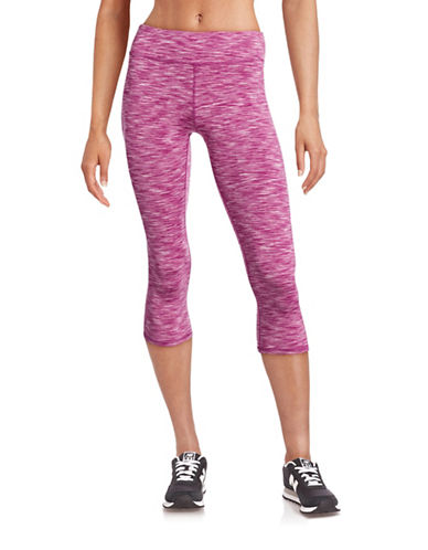Marc New York Performance Printed Stretch Capris-PURPLE-Medium 88420438_PURPLE_Medium