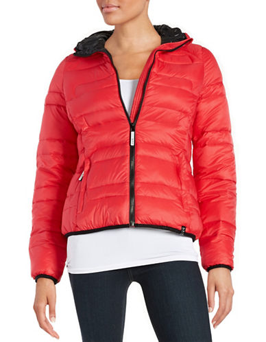 Marc New York Performance Hooded Puffer Coat-RED-Medium 88657626_RED_Medium