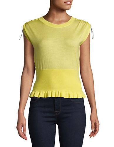 Mo & Co Sleeveless Wool-Blend Top 89962269