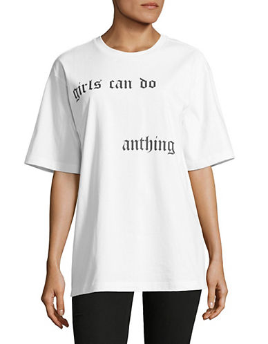 Mo & Co Graphic Cotton Tee-WHITE-X-Large 89962289_WHITE_X-Large