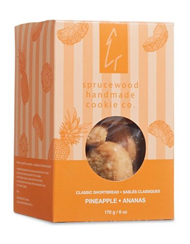 Sprucewood Co Pineapple Classic Shortbread Cookies-PINEAPPLE-One Size