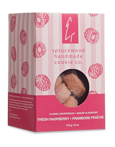 Sprucewood Co Fresh Raspberry Classic Shortbread Cookies-RASPBERRY-One Size