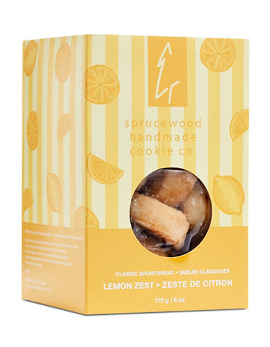 Sprucewood Co Lemon Zest Classic Shortbread-LEMON-One Size